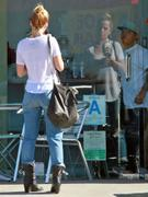 Mena Suvari - booty in jeans out and about in Los Angeles 11/05/12