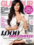Kim Kardashian Glamour Magazine Guy Issue