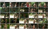 Jessica Jane Clement & Emily Scott - showering in bikinis - I'm A Celebrity Get Me Out Of Here - 19th Nov 11
