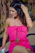Дениз Милани, фото 5580. Denise Milani Sunbathing in pink :, foto 5580