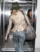 Stacy Fergie Ferguson - at LAX airport in Los Angeles 10/27/12