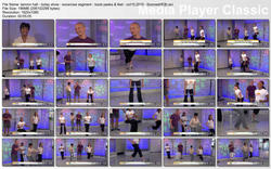 "TAMRON HALL exercise - ""Today Show"" - October 15, 2010 - [boonesHD] - *boob peeks & feet*"