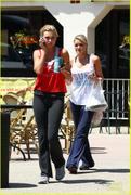 Aly & AJ Michalka out in Los Angeles, May 10, 2012