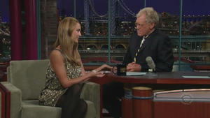 Jessica Alba - Late Show with David Letterman (2007)