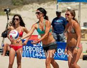 Times per beach volleyball wedgie bikini