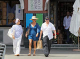 Catherine Zeta Jones | Shopping in Rapallo [Italy] | July 23 | 10 leggy pics