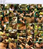 Девочка с обалденной грудью трахнута во дворике собственного дома / Karolina S (2004) DVDRip