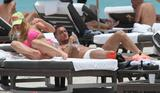 Ilary Blasi | Bikini Candids on the Beach in Miami | June 7 | 18 pics
