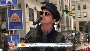 Bruno Mars - Grenade & Just The Way You Are   @ The Today Show  |11-22-2010| DD5.1 MPEG2 HDTV-1080i