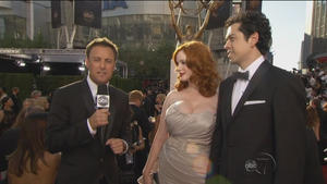 Christina Hendricks - Emmy Awards 2012, 720p